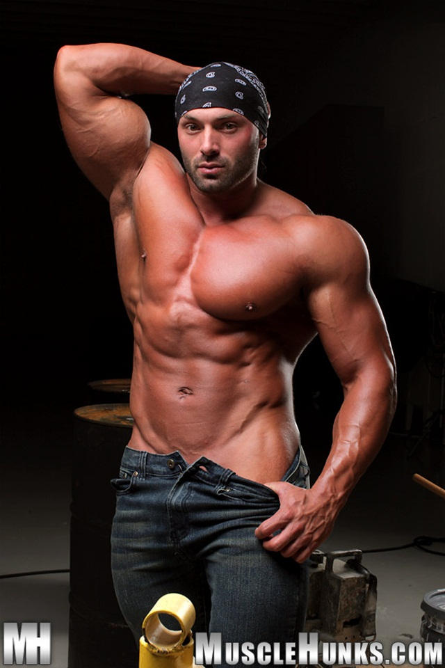 Max Chevalier for Muscle Hunks