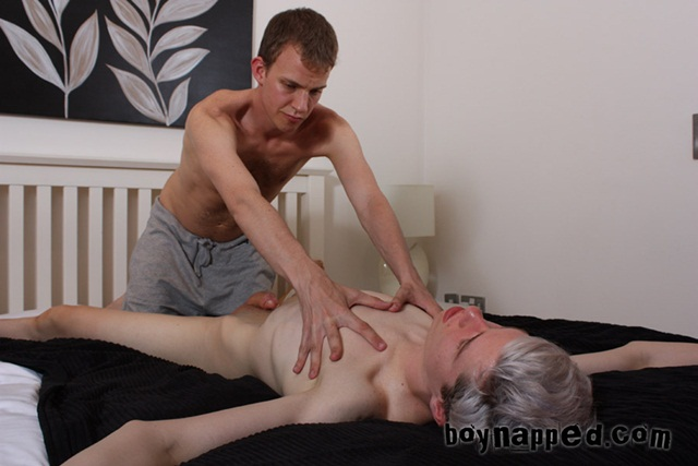 Boy Napped - Calvin's Massage with Calvin Croft and Leo James