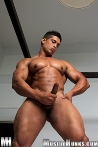 Muscle Hunks: Nude Bodybuilder Gallery