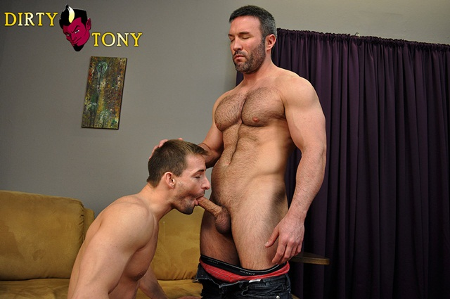 Brock Landon and Eryk Eastman at Dirty Tony