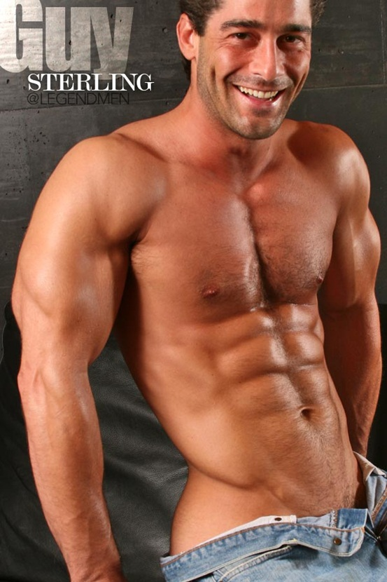 Top 100 world's sexiest naked muscle men at Legend Men (41-50)