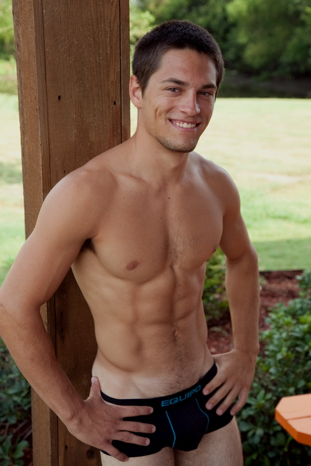 Sexy 21 year old Toby Hart is close to perfection plus he is a pole vaulter