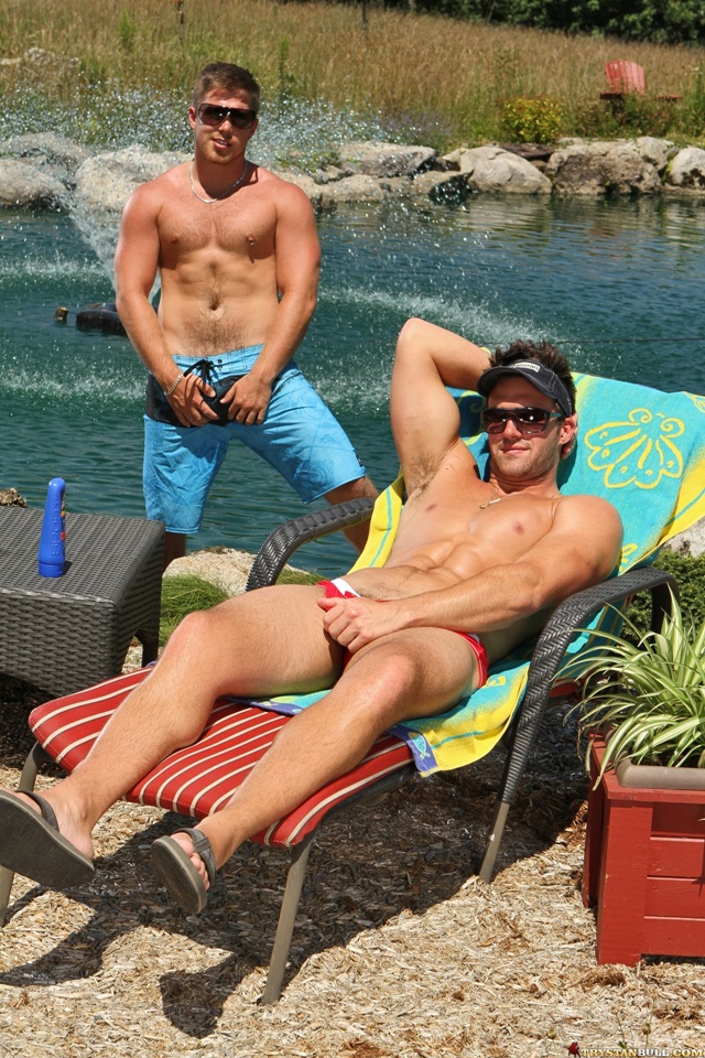 Trystan Bull and Marko Lebeau