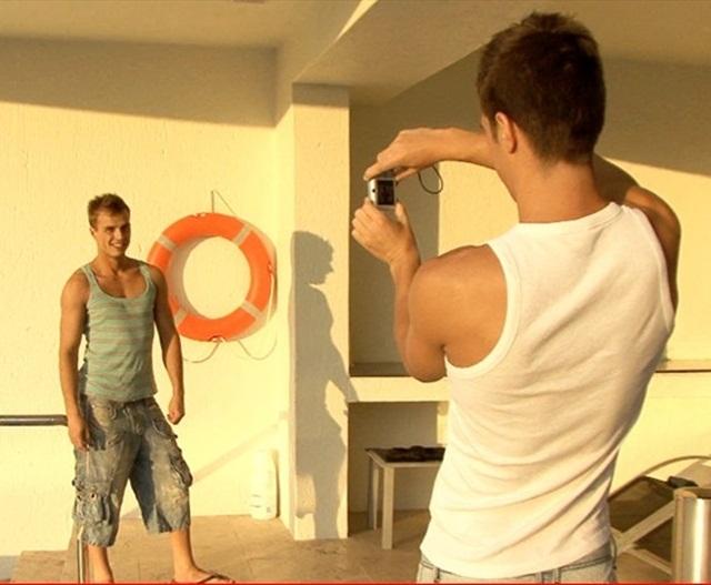 Bareback fucking with Phillipe Gaudin and Florian Nemec