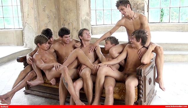 Belami gay guys Jack Harrer raw ass fucking with Trevor Yates - scandal in the Vatican part 2