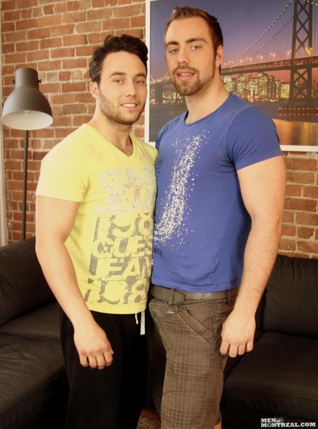 Alec Leduc and Nicolas Potvin
