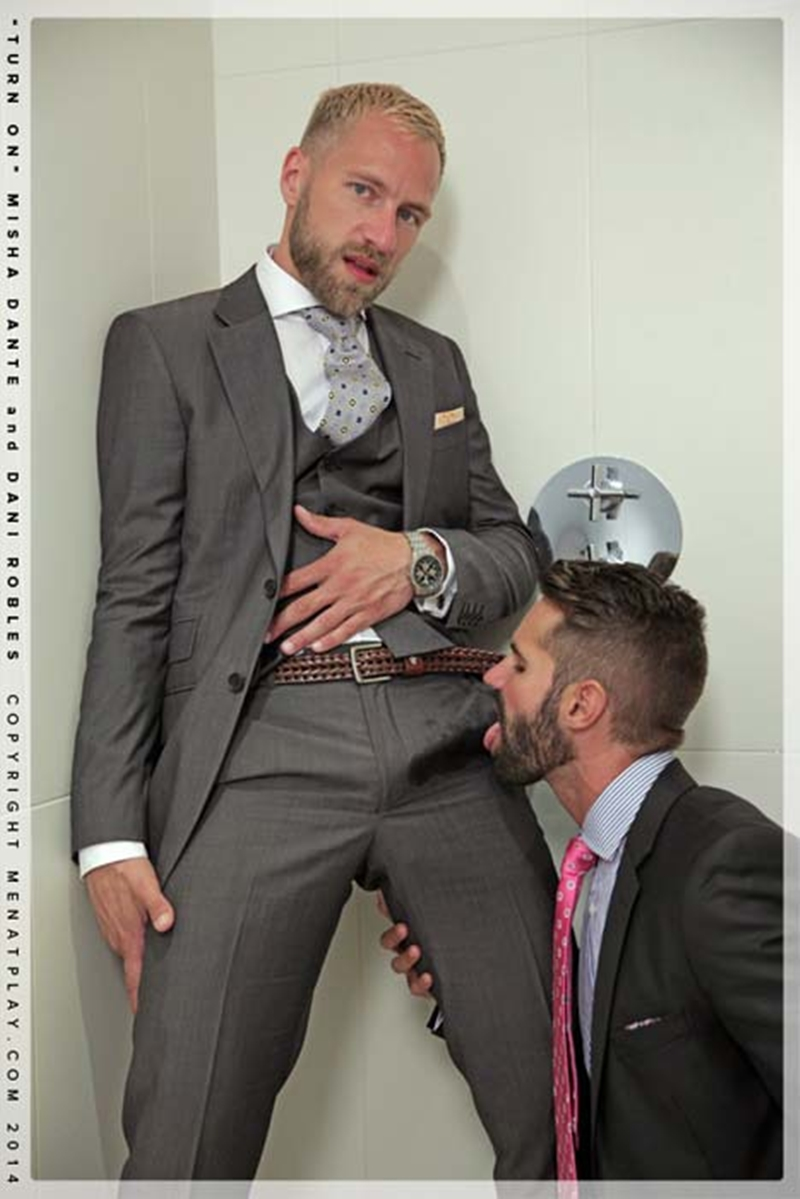 gay suits porn sitting position