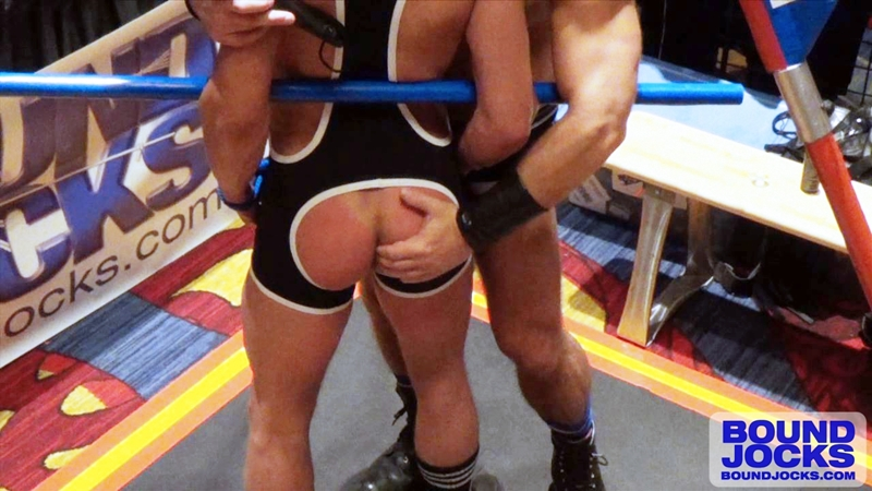 bound jocks  Dirk Caber and Joseph Rough