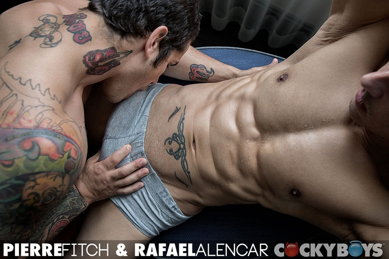 Rafael Alencar and Pierre Fitch