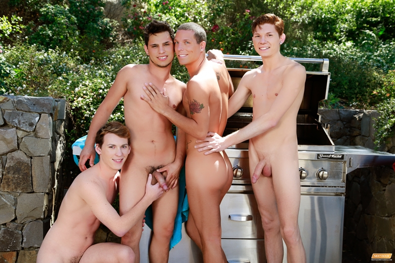 Landon Terry, Nick B, Jake Piper and Kaiden Haskins
