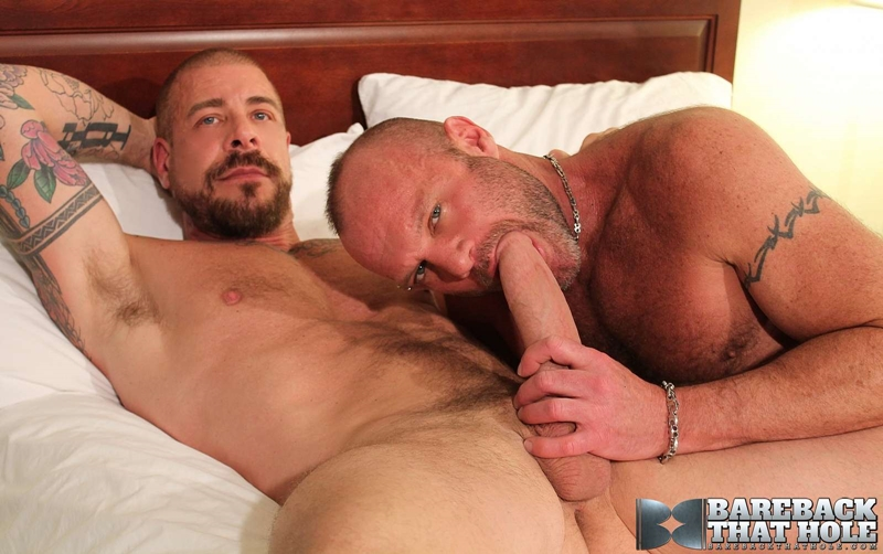 bareback that hole  Chad Brock and Rocco Steele