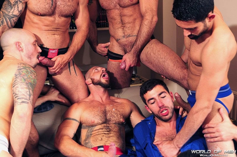 Adam Killian, Aitor Crash, Billy Baval, Damian Boss, Dominic Pacifico, Spencer Reed and  Valentin Alsina