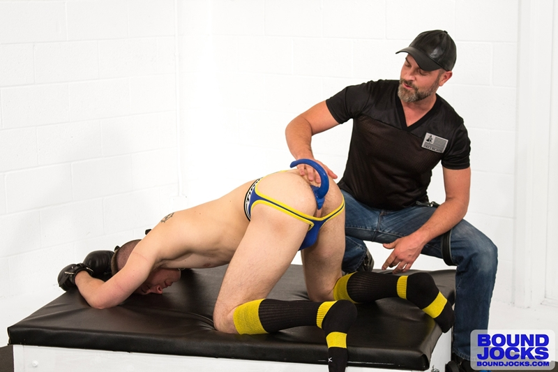 bound jocks  Bound puppy Tyler Rush trained by Mr. Kristofer