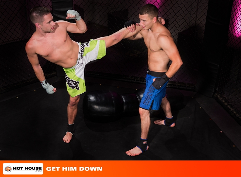 hothouse Kickboxers Dylan Knight and Jimmy Roman fucking