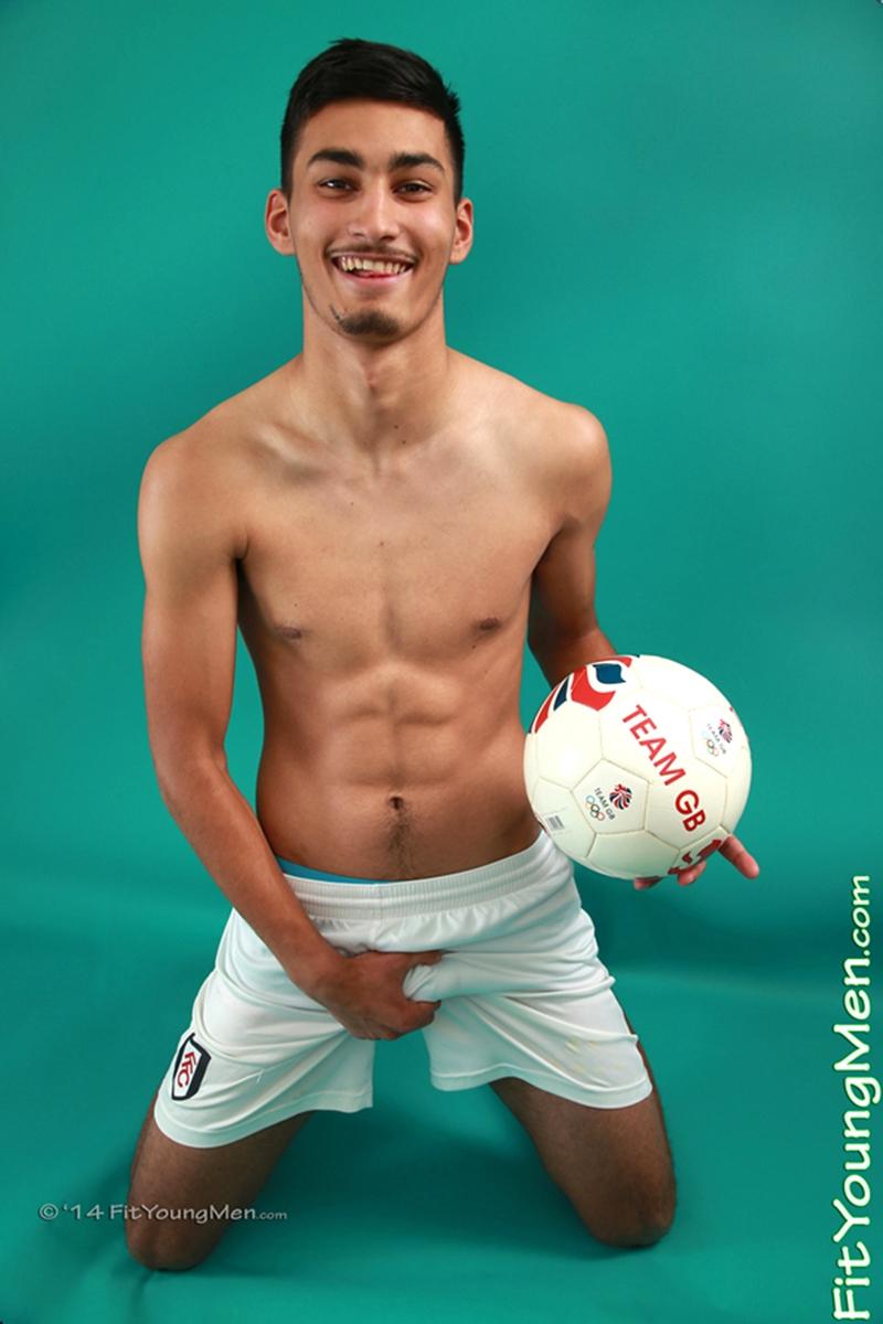 Young footballer Liam Burlington strips down to his Abercrombie undies