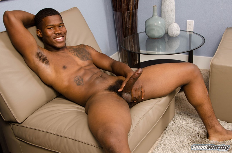 Big black married muscle dude AJ jerks his huge dick to a massive cumshot