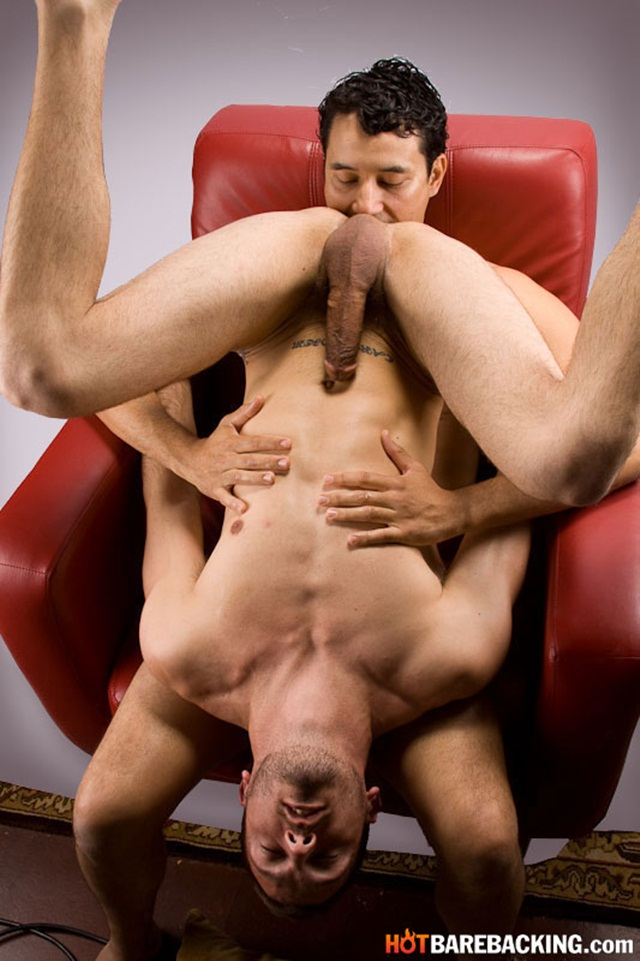 Bareback fucking with Gabriel D'Alessandro and Dylan Hyde