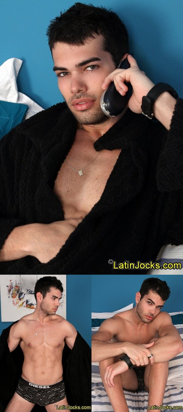 Latin Jocks: Smoldering dark eyed Leo