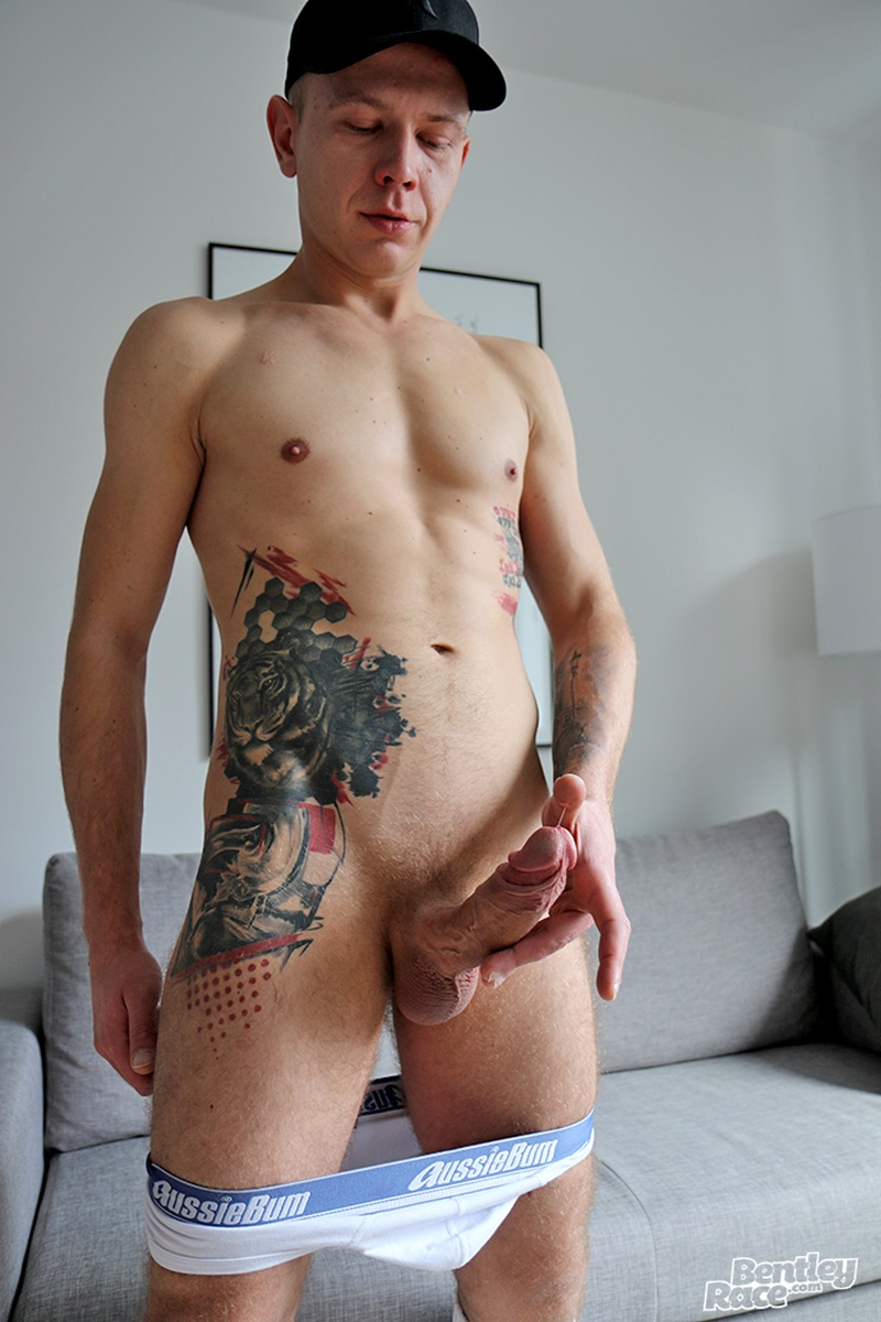 Polish Gay Porn Star Oscar Wood Jerks His Very Big Fat -8801