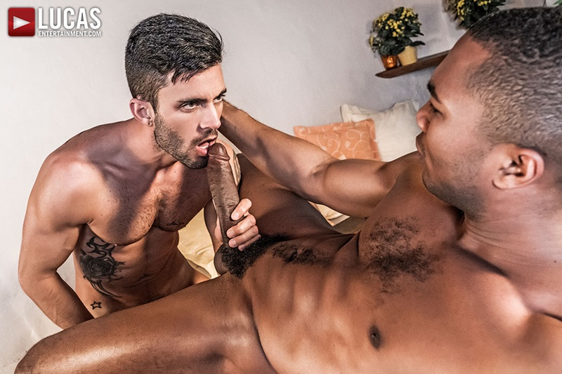 Andy Star surrenders his uncut meat and tight ass for Sean Xavier to suck on and eat out
