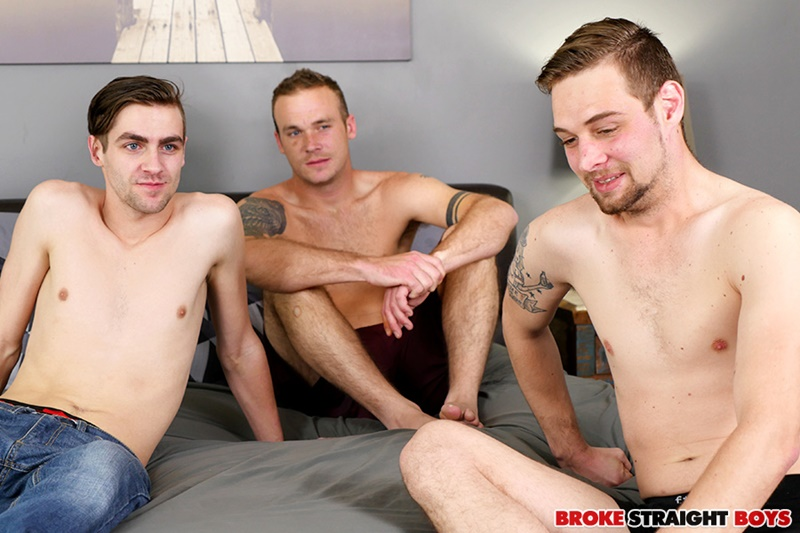 Robb Davis, John Henry and Romeo James hardcore ass fucking threesome