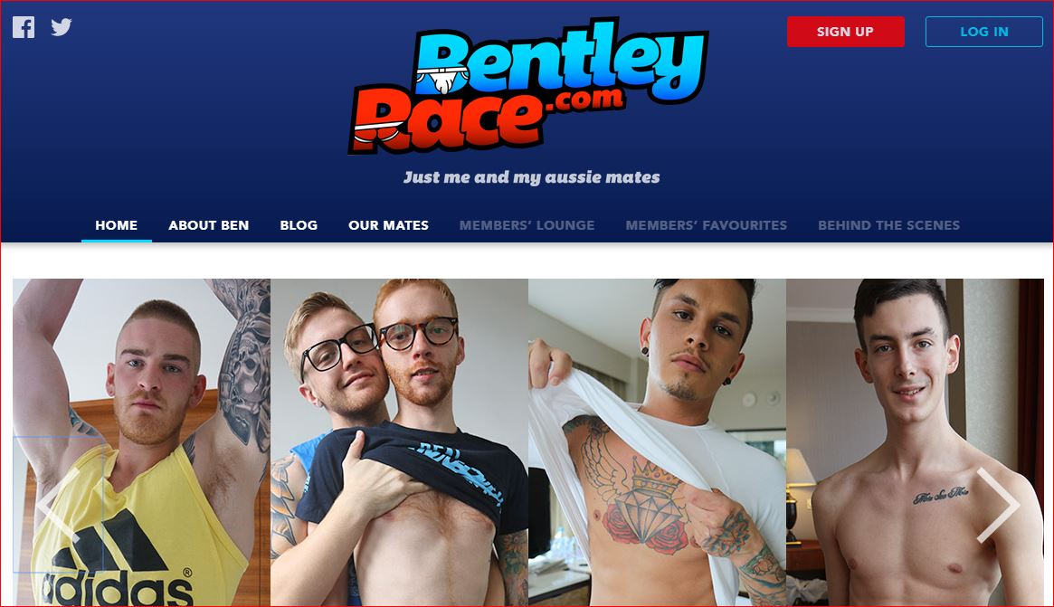 Bentley Race gay porn site 4 star review